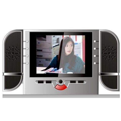 hd spy camera alarm clock nightvision bedroom ir mp3 cycle recording