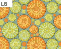 Abstract Lemon Pattern