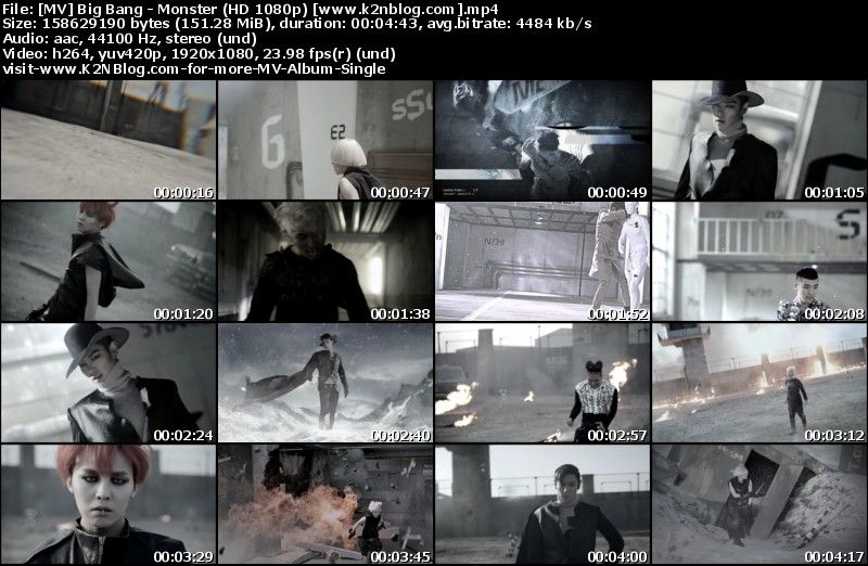 [MV] Big Bang - Monster (HD 1080p Youtube)