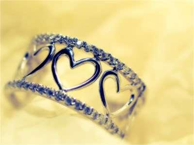 خاتم حب روعة قلوب