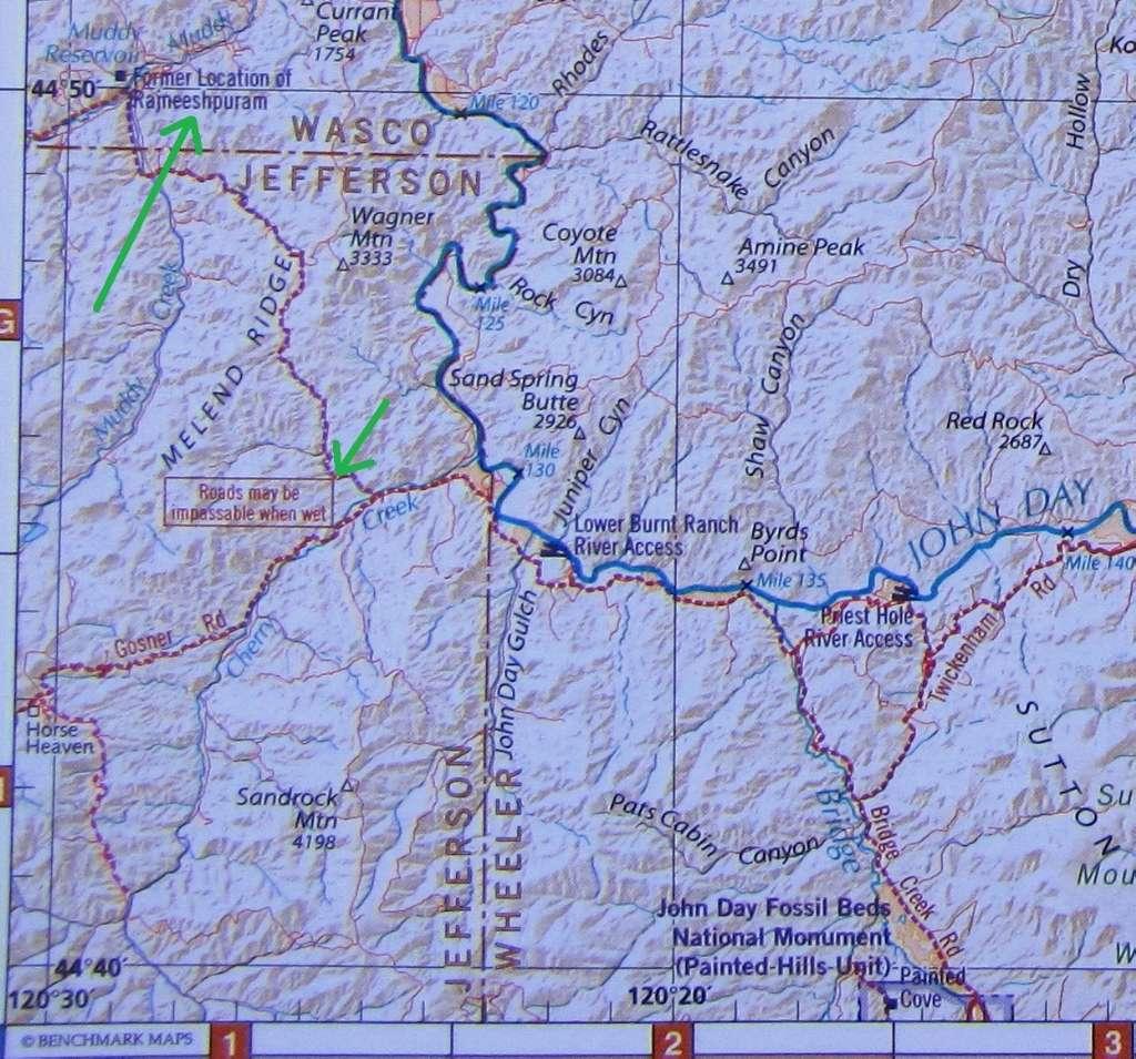 Sport Touring Net The Road To Rajneeshpuram