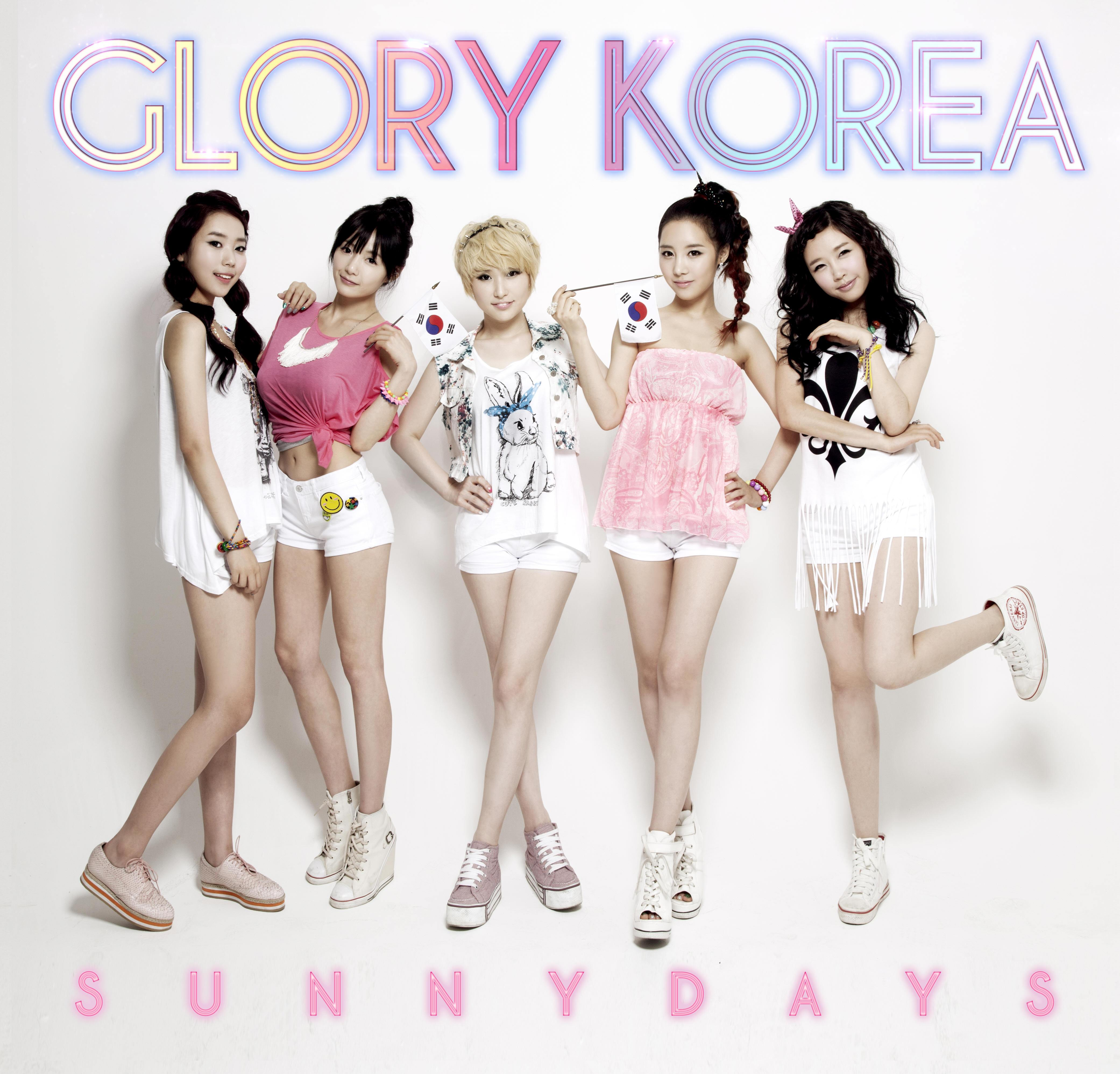 [Single] Sunny Days - Glory Korea