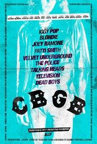 """""""CBGB: The Movie"""" Poster"""