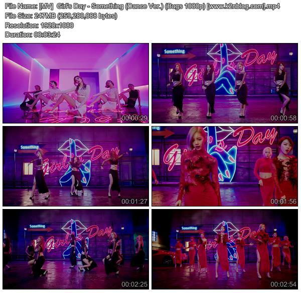 (MV)Girl's Day - Something (Dance Ver.) (Bugs HD 1080p)