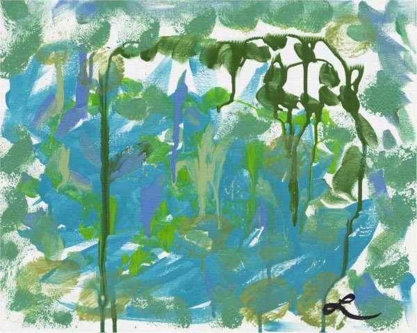 DARE TO DREAM GALLERY: PASSION VINE by Luz Aponte Artist