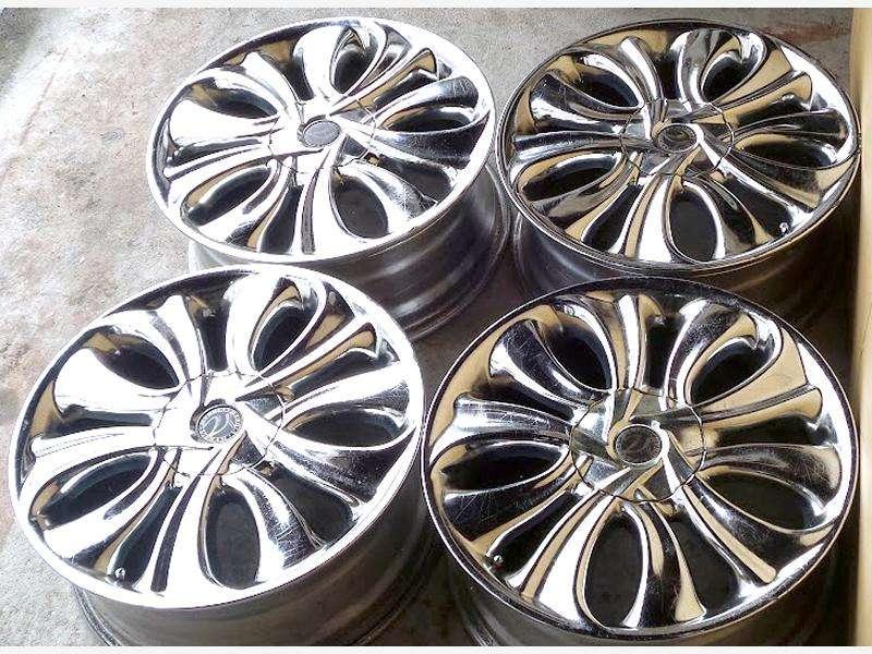 VIBRAM alloy wheels 17x7J 5X100 5x114 BG5 Legacy Impreza S14