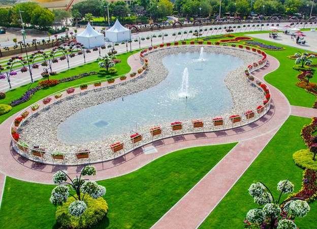 63481874 O maior jardim do Mundo   o jardim de milagre de Dubai