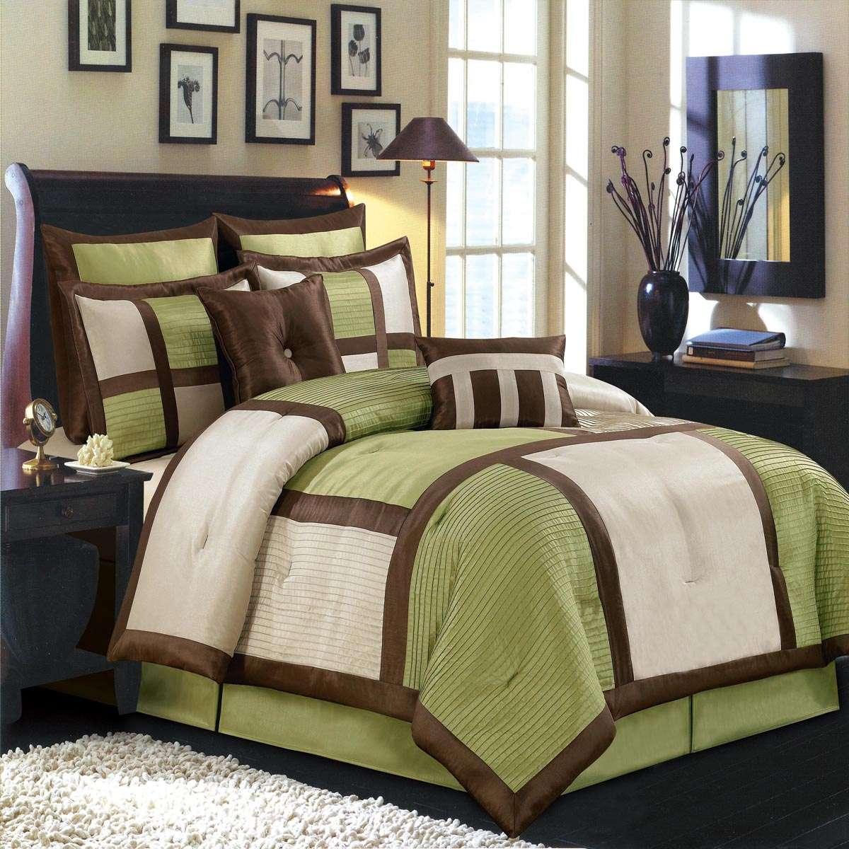 Scotts-sales Morgan Sage Luxury 12-Piece Comforter Set