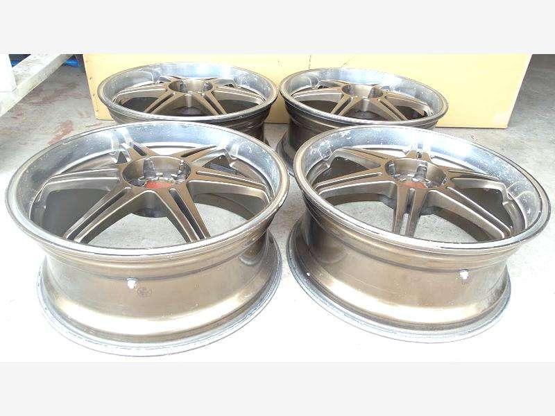 ASAHI Alloy Rims wheels 18 7.5J 5x100 BG5 Legacy BE5 BRZ GC8