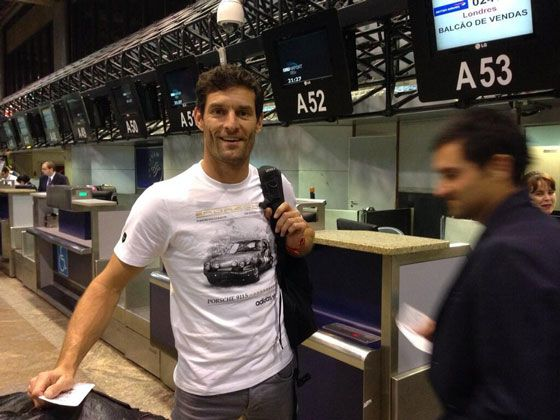 Mark Webber Porsche Adidas T-Shirt