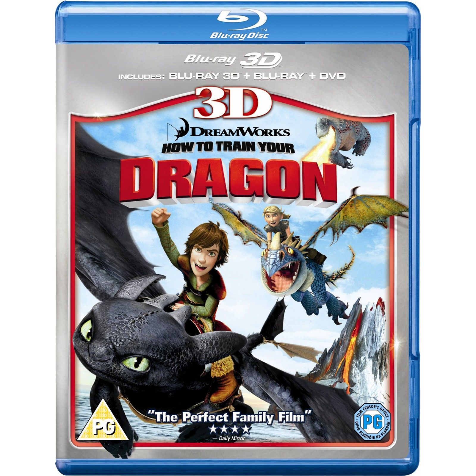 Dragon Trainer [3D] (2010) Full Blu-ray ISO AVC TrueHD DD5.1 37Gb