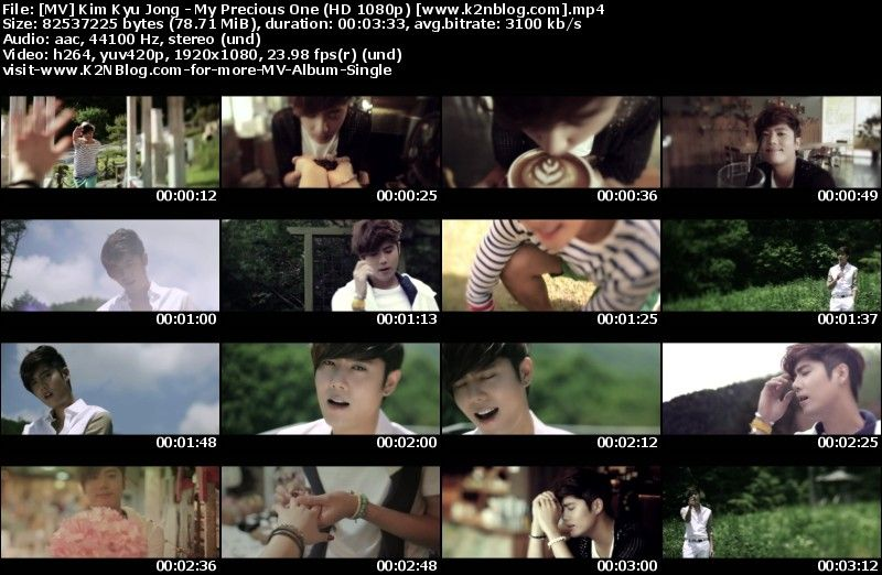 [MV] Kim Kyu Jong - My Precious One (HD 1080p Youtube)