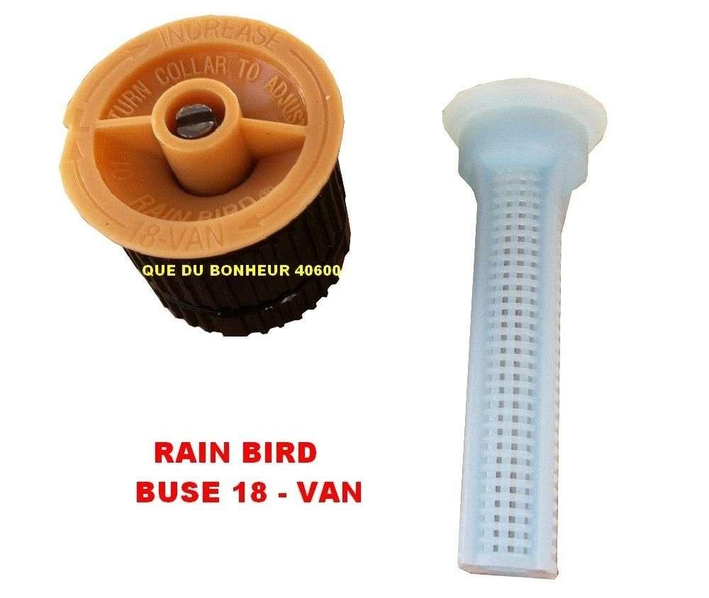 10 buses 18 van pour arroseur tuy re uni spray rain bird. Black Bedroom Furniture Sets. Home Design Ideas