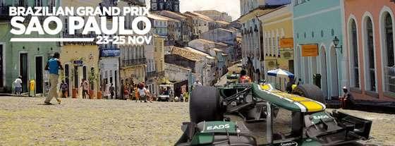 Caterham F1 2012 Brazillian Grand Prix Promo Salvador/São Paulo Montage
