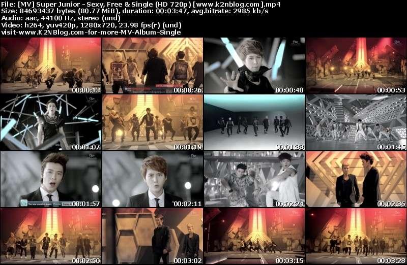 [MV] Super Junior - Sexy, Free & Single (HD 720p Youtube)