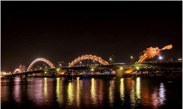 Мост Огнедышащего Дракона  ( Дананг / Вьетнам)