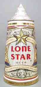 Official Lone Star Beer Stein!