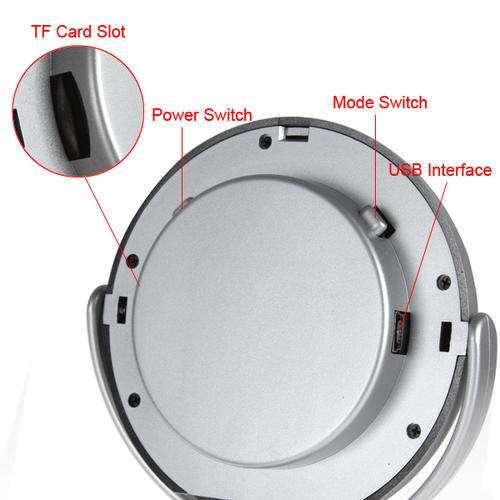 Petit miroir de salle de bain avec une camera espion integre ebay - Camera espion salle de bain ...