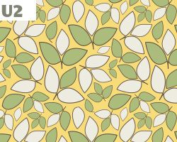 Yellow, Green and White Leaves