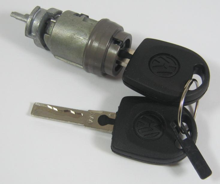 2001 Vw Beetle Ignition Key: VW CADDY LUPO POLO IGNITION STARTER SWITCH LOCK CYLINDER