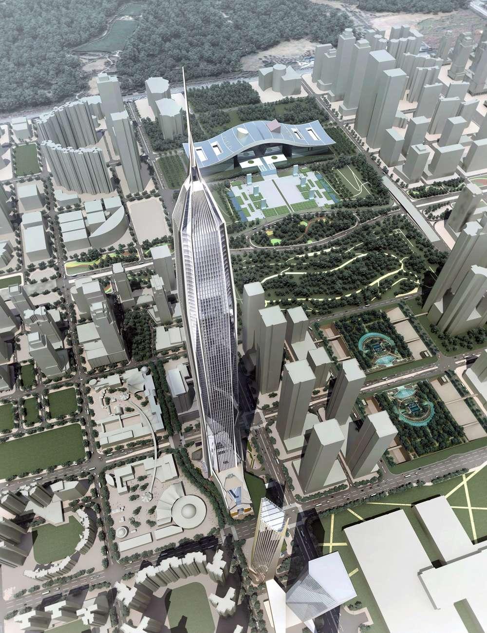 Ping An Finance Center 平安國際金融中心 Shenzhen China