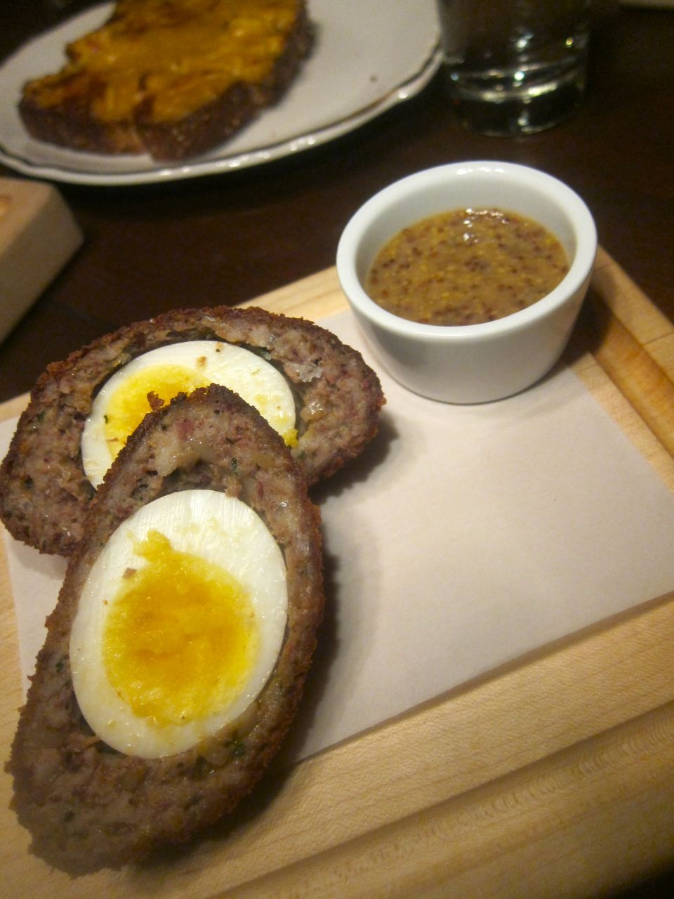 I'm not sure I'm really a fan of the Scotch egg, although this one is exceptional.