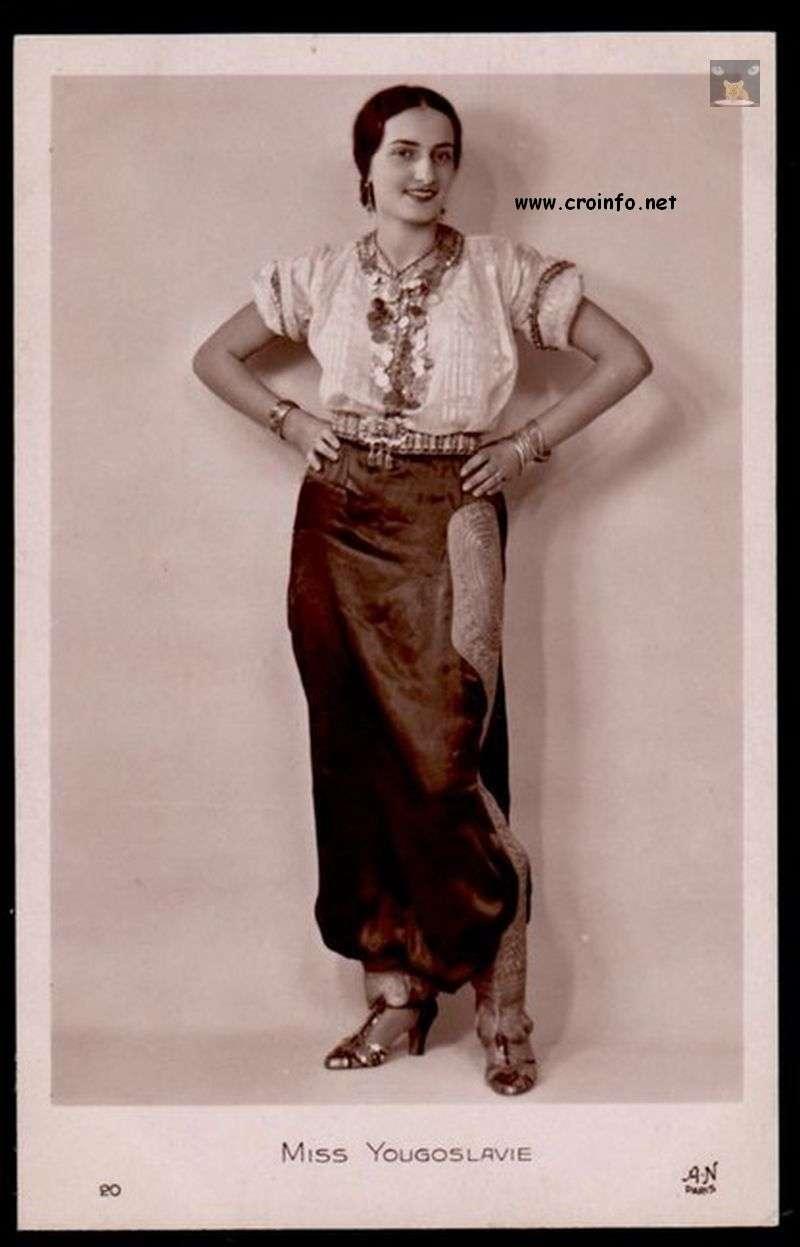stephanie ceca drobnjak miss jugoslavije 1930