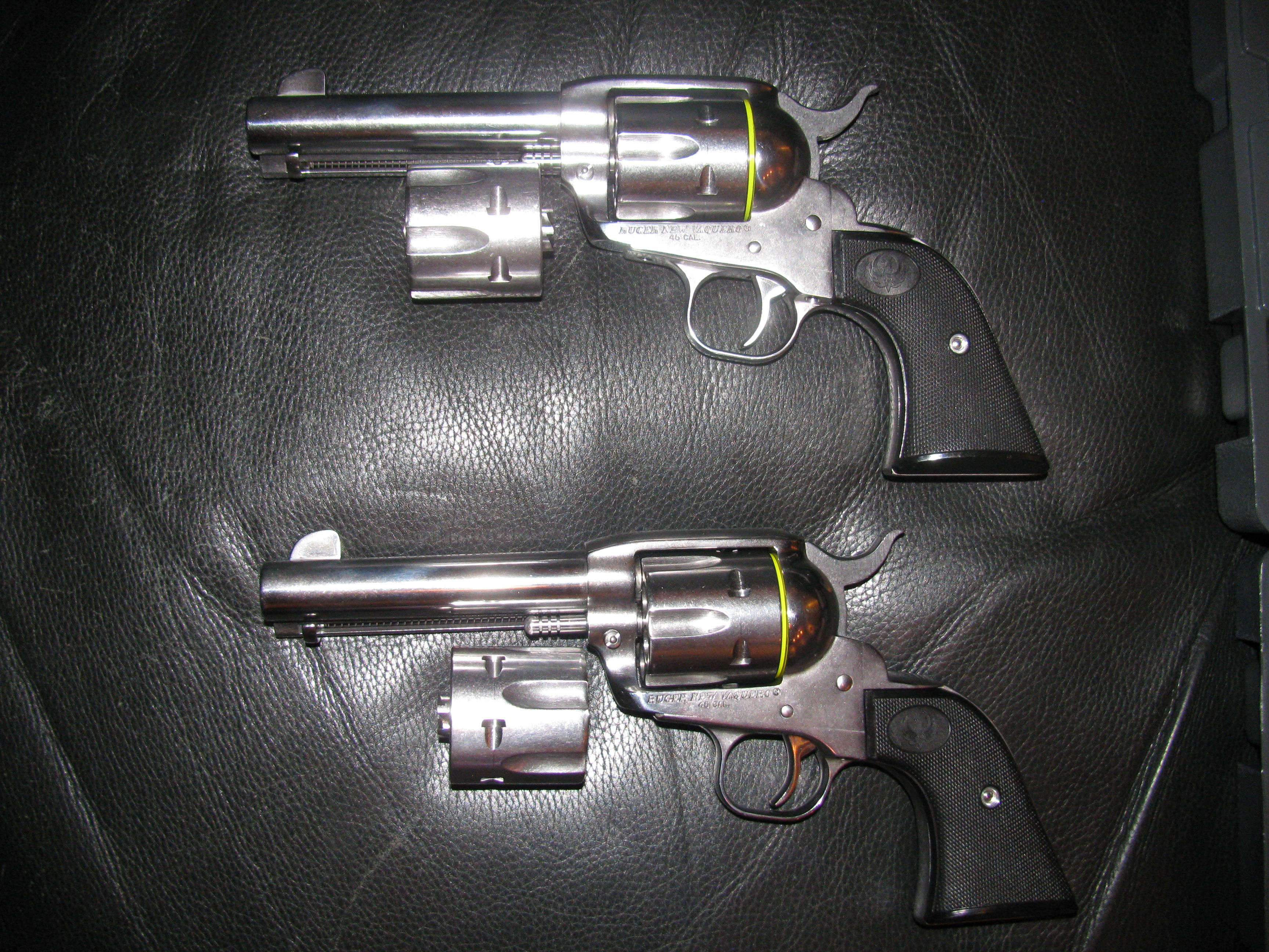 Cowboy revolver - Revolver Handguns
