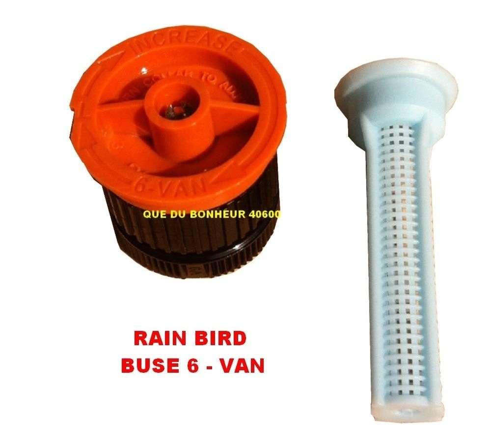 buse 06 van pour arroseur tuy re uni spray rain bird arrosage automatique. Black Bedroom Furniture Sets. Home Design Ideas