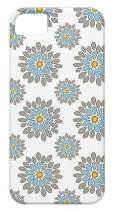 dahlia flower iphone 5 case