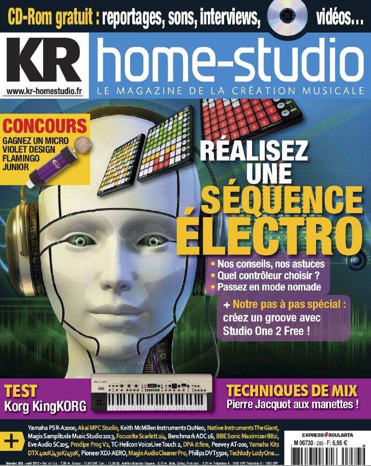 Keyboard Home Studio N°283 Avril 2013