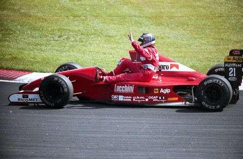 GP do Canadá de 1991: o italiano Emanuele Pirro e o finlandês Jyrki Juhani Järvilehto