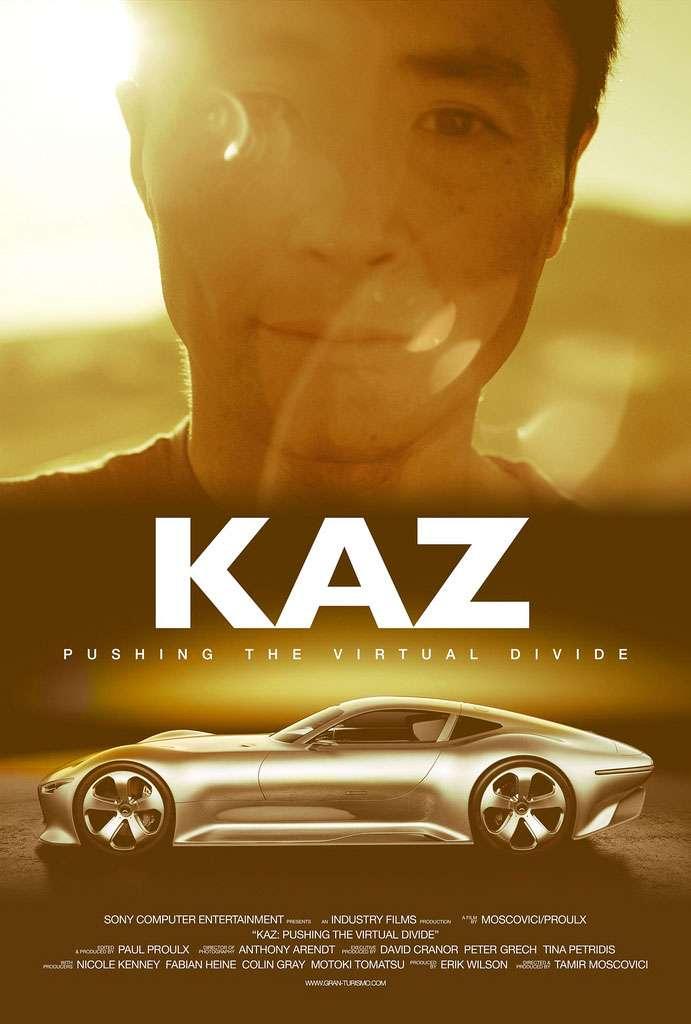 """KAZ: Pushing The Virtual Divide"" Poster"
