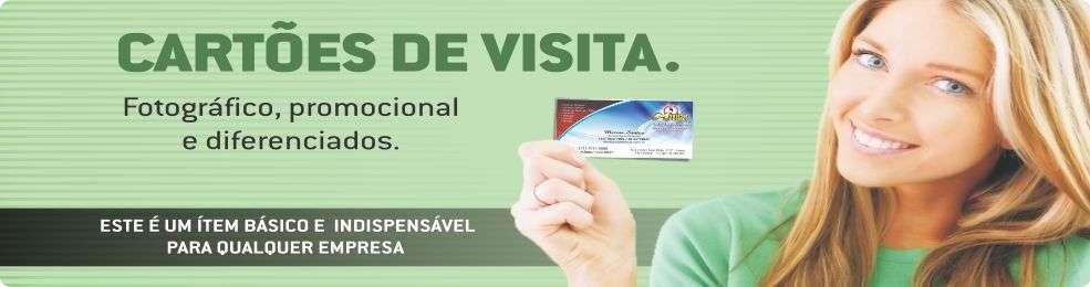 Cartão de visita fotográfico