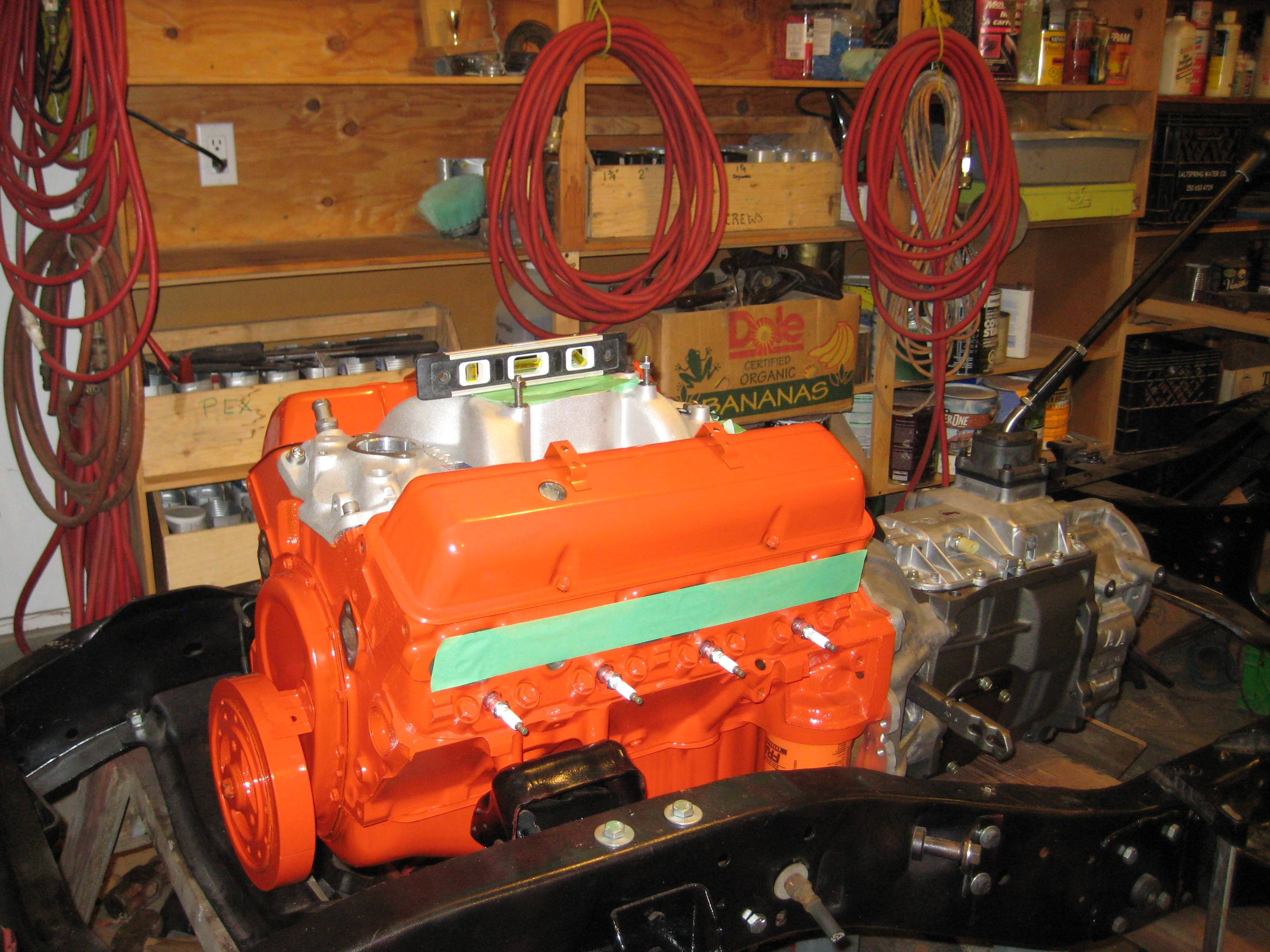 Nv4500 In A K10 20 The 1947 Present Chevrolet Gmc Truck 5 Speed Transmission Case Diagram Advance Adaptor B Housing From Smart Parts Kansas City Mo They Also Modified Output Shaft For T C Adaption Np205