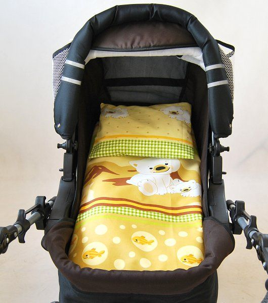 babylux 2 tlg set bezug f r kinderwagen garnitur. Black Bedroom Furniture Sets. Home Design Ideas