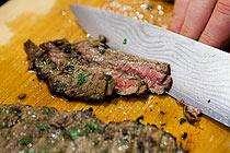 fajitas steak stripes