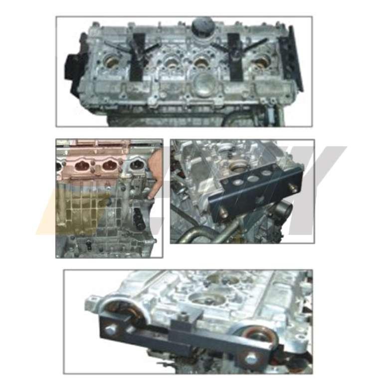 Volvo Camshaft Crankshaft Engine Alignment Timing Lock