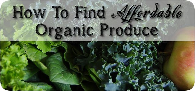 Affordable Organic Produce On A Budget Article