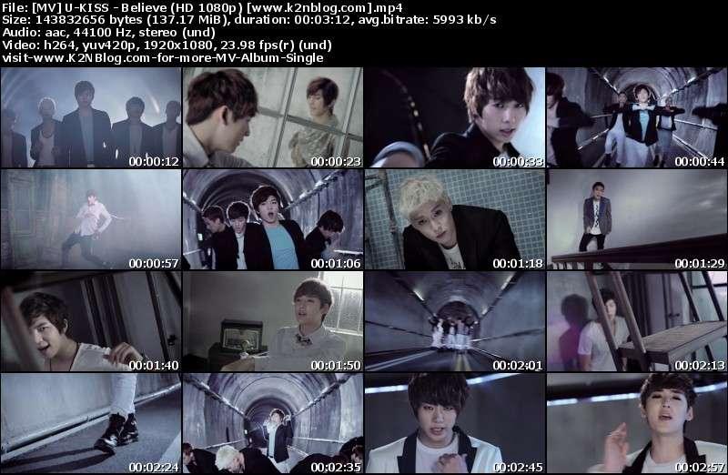 [MV] U-KISS - Believe (HD 1080p Youtube)