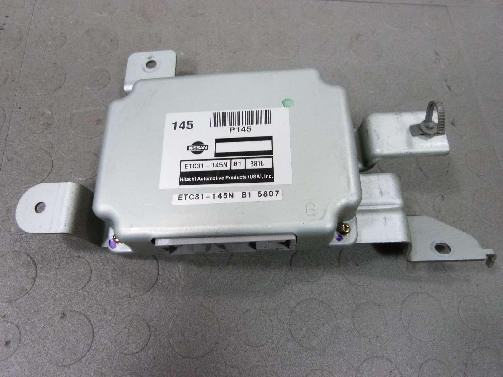 Buy 04 05 06 Nissan Sentra S Base 1 8 Tcu Transmission Control Unit Etc31