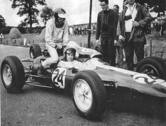 GP da Bélgica de 1964: os britânicos Peter Arundell e Jim Clark