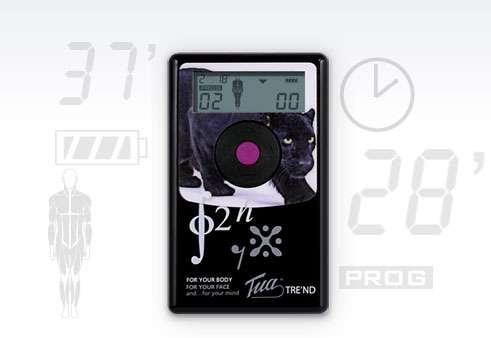Nawigacja elektrostymulatora Tua Tre'nd Body | lifting ciała