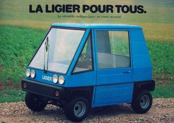 La Ligier pour tous. La véritable indépendance en toute securité.