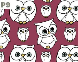 Owl Comic Drawing