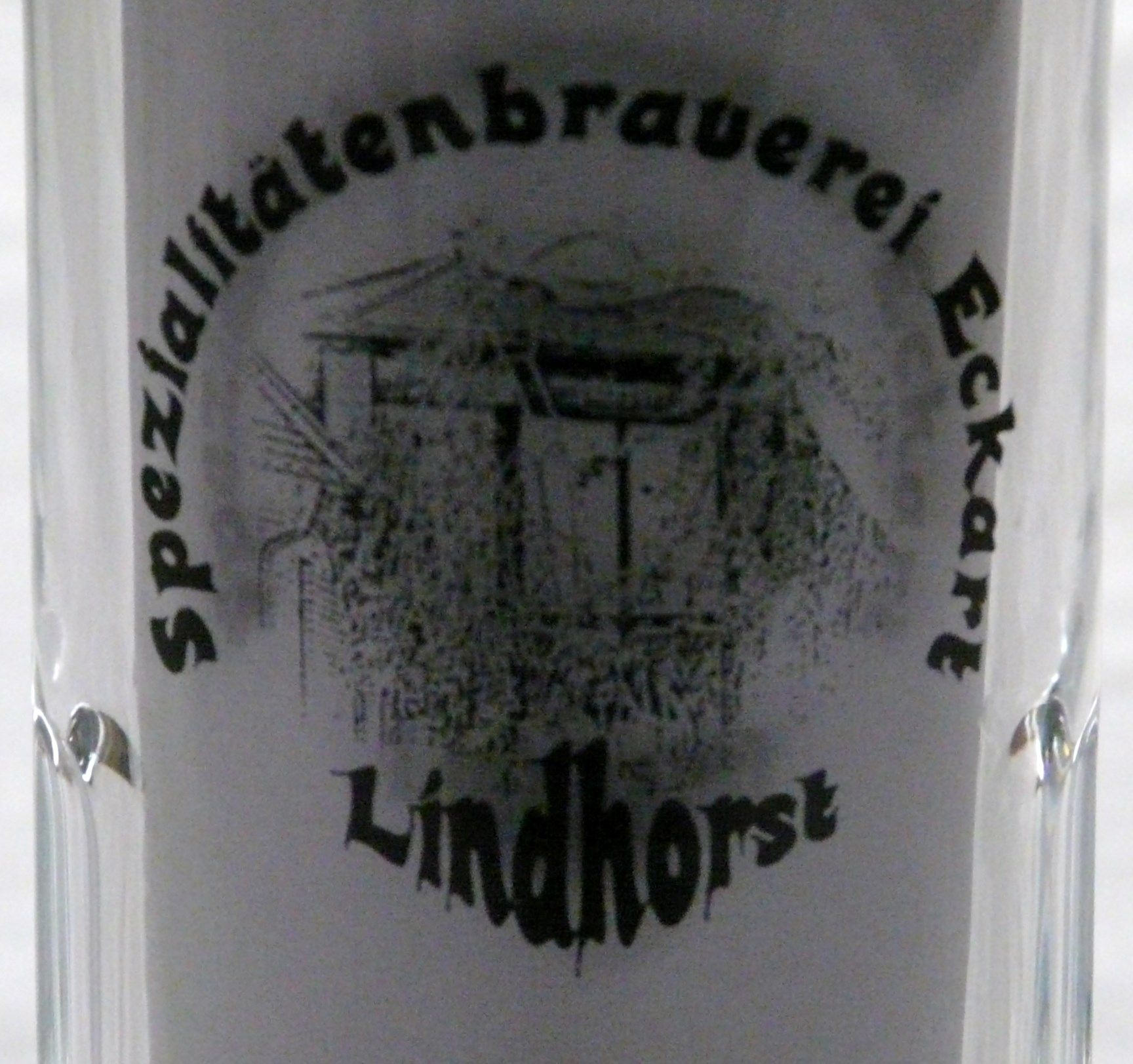 0 3 liter bierglas spezialit tenbrauerei eckart lindhorst ebay. Black Bedroom Furniture Sets. Home Design Ideas