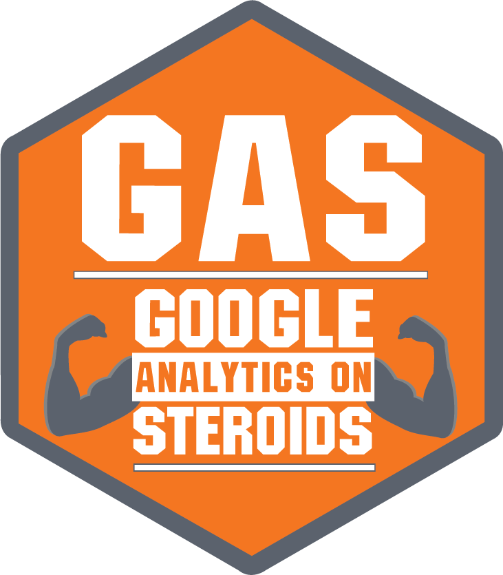 Google Analytics On Steroids (GAS)