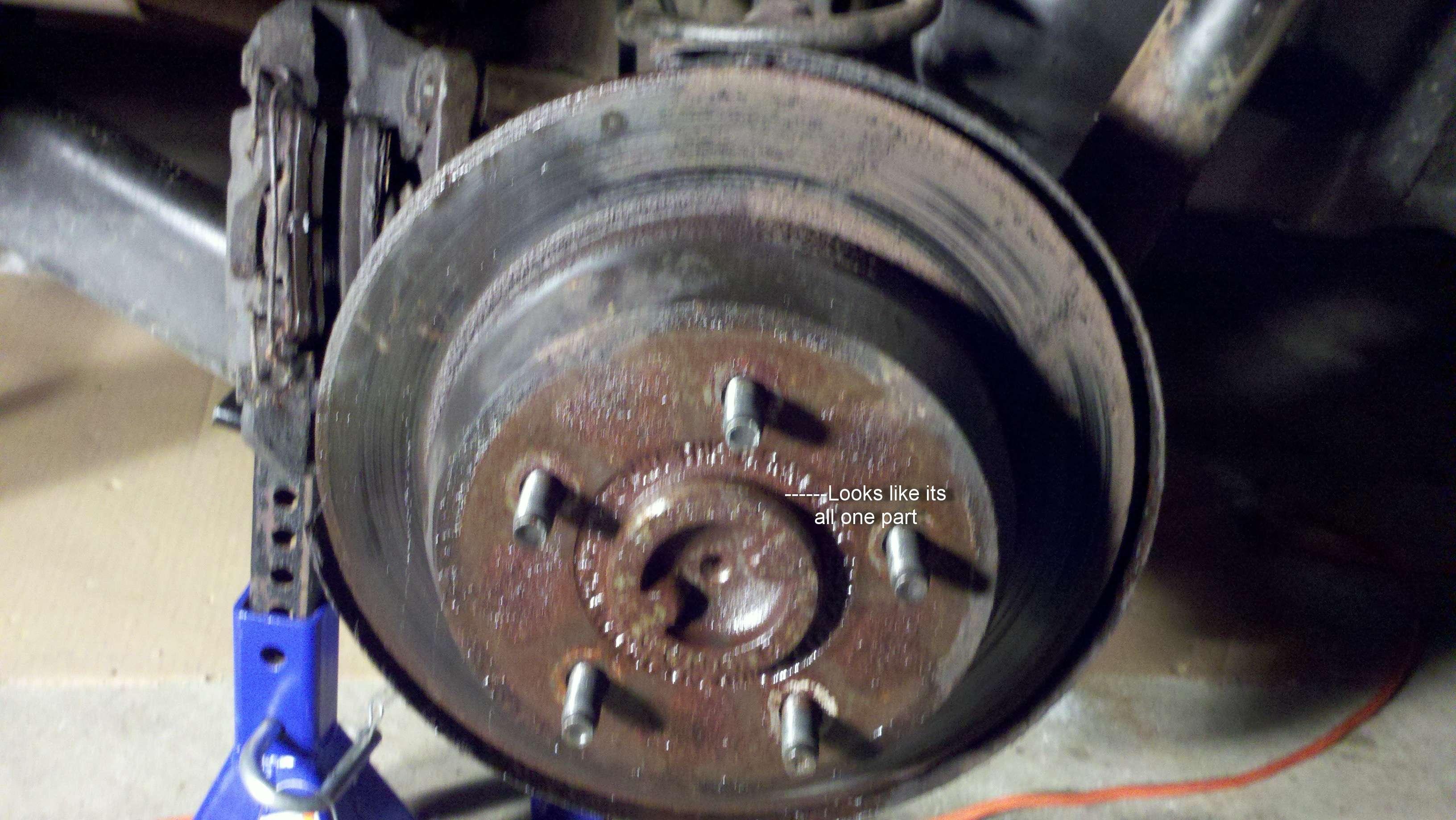 Rear Rotor Removal 13 Grand Cherokee Wj Jeep Wrangler Patriot