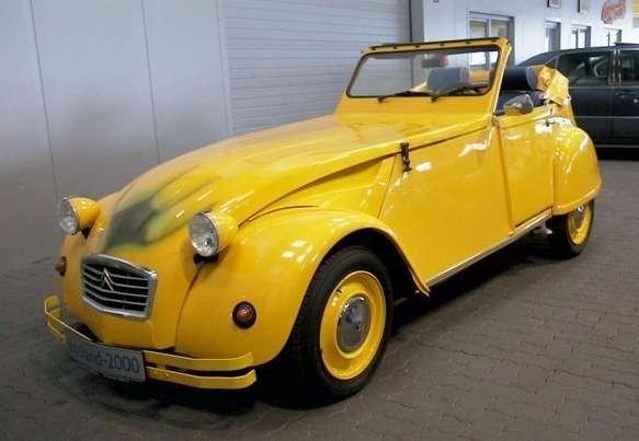 citro n cv2 cabriolet banane for chiquita used daewoo cars. Black Bedroom Furniture Sets. Home Design Ideas