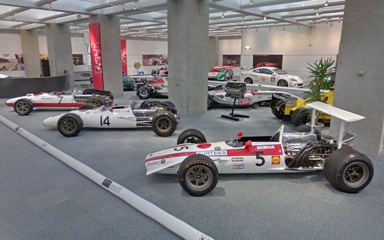 Honda Museum at Google Street View